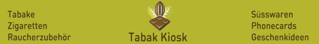 Tabak Kiosk Online Shop (ausschliesslich online)