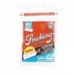 Smoking Slim Classic Filter Gummed(120) --1 Original GPK mit 10 Stck.