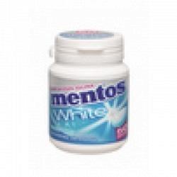 Mentos Gum White Sweet  Mint 75 gr. 1 Original GPK mit 6 Stck.