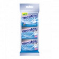 Mentos Gum White Sweetmint 3x30 gr.3 Pack  - 1 Original GPK mit 12 Stck.