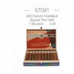AVO Syncro Nicaragua Special Toro Cello -1 Stck. x20