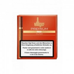 Villiger Premium Red Filter 5 x 20 1 Origianl GPK mit 5 Stck.