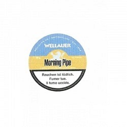 Wellauer Morning Pipe 5o gr. Dose- 1 Original GPK mit 5 Dosen (Ersatz Dunhill)