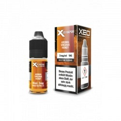 XEO E-LIQUID VIRGINIA HONEY  6 mg  10ML NEU -NEW-NOUVEAU