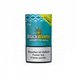Black Widow in 15 gr. Beutel -READY TO ROLL CBD 8 GR.