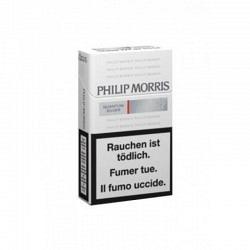 Philip Morris Quantum Silver Box -1 Original Stange mit 10 Päckli