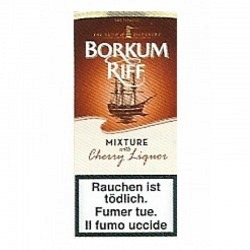 Borkum Riff Cherry Liqueur  Beutel 50 gr.- 1 Original GPK mit 5 Btl.