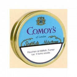 Comoy's Scottish Mixt. Tin 50 gr.- 1 Original GPK mit 5 Dosen