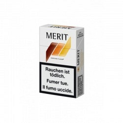 MERIT ORANGE Box - 1 Original Stange mit 10 Päckli -