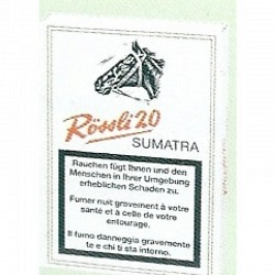 Rössli 20 Sumatra 1x5 - 1 Original GPK mit 5 Stck.
