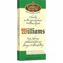 Camille Bloch Williams 100 gr. - Schweizer Schokolade -1 Original GPK mit 18 Stck.