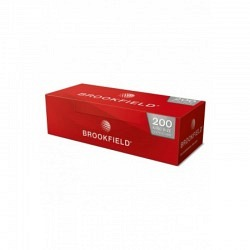 Brookfield Zigaretttenhülsen (Filtertubes )5 x 200 -1 Original  GPK mit 5 Stck.