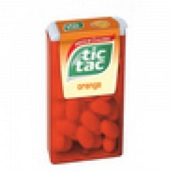 Tic Tac Fresh Orange 18 gr. - 1 Original GPK mit 36  Stck.