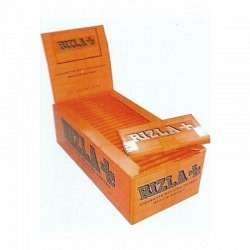Zigarettten Papier Rizzla Orange 135  1 x 100 - total 2 Original Packs