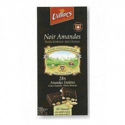 Villars Schokoladetafel 200 gr. Noir Amandes - 1 Original GPK mit 10 Stck.