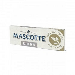 Mascotte O Extra Thin ORGANIC  50 Papierchen - 1 GPK mit 50 Stck.