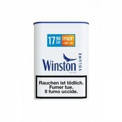 Winston Blue Volumen Plus MYO Tin Tabak in Dose 80gr. Dose.  - Aktion mit Gratishülsen 1 x (100)