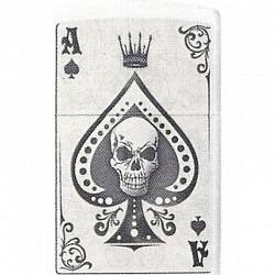 ZIPPO Skull Card