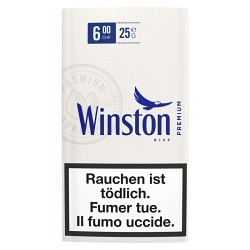 Winston Blue Roll your Own in Beutel - 1 GPK mit 10 Stck.