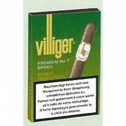 Villiger Premium No 7 Brasil 5x5 - 1 Original GPK mit 5 Stck.