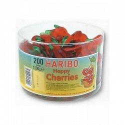 Fruchtgummi Happy Cherries   von Haribo  - 1 Original Box mit 150  Stck.