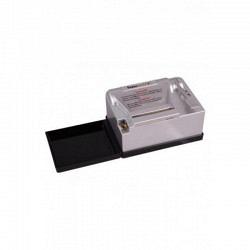 Zigarettenmaschine SHARK POWERMATIC II+ SILBER Elektro Tubing Machine 2  next generation - Aktion mit Gratishülsen (1 x 200er)