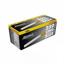 ATOMIC GOLD LINE ZIGARETTEN HÜLSEN (KS) 10 x 275 -1  GPK mit 10 Filterpack.