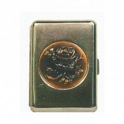 Zigaretten Etui aus Metall -1 teilig  90002
