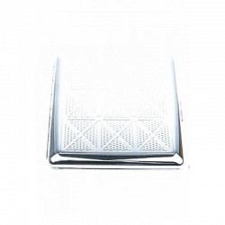 Zigaretten Etui aus Metall 1-teilig/simple 10er- 98139