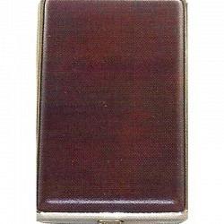 Zigaretten Etui aus Metall  2-teilig/double 86318