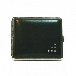 Zigaretten Etui aus Metall  2-teilig/double 77164
