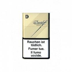 DAVIDOFF GOLD Box Aktion mit Gratis Feuerzeug - 1 Original Stange mit 10 Päckli